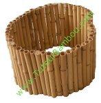 Bordure de jardin bambou for Bordure de jardin en bambou